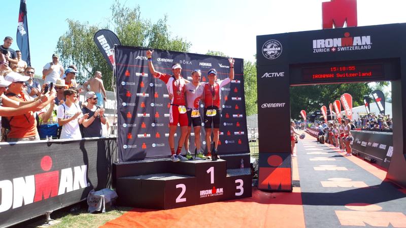 Jan Van Berkel et Kaisa Sali remportent l'Ironman de Zurich