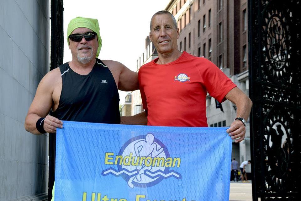 Un français de 56 ans termine le célèbre Enduroman et traverse la manche en 15h