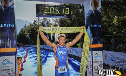 La victoire pour Margiriez et Gauthier sur le M du triathlon d'Embrun