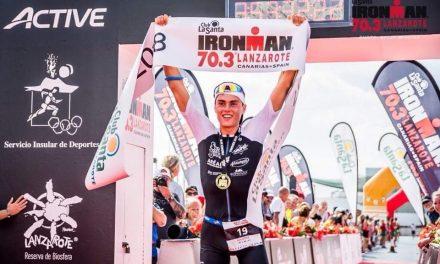 Tom Lecomte remporte l'Ironman 70.3 de Lanzarote !