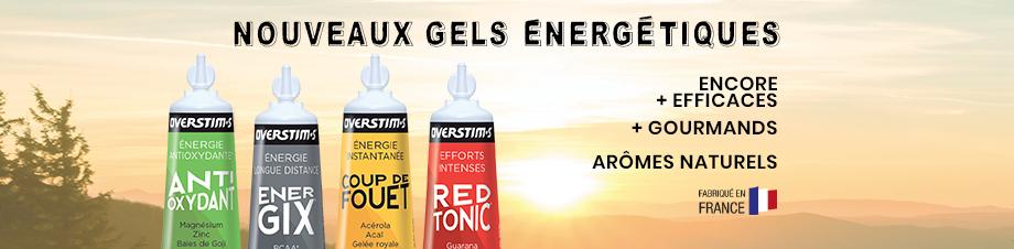 OVERSTIM.s : nouvelle gamme de gels énergétiques