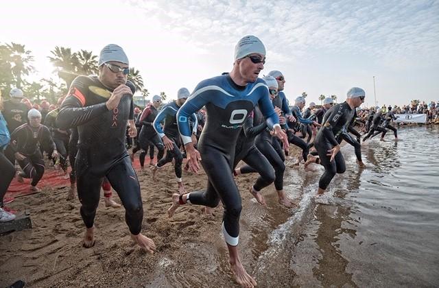 Le triathlon International de Cannes dépasse les 1000 participants inscrits venant de 25 pays differents!