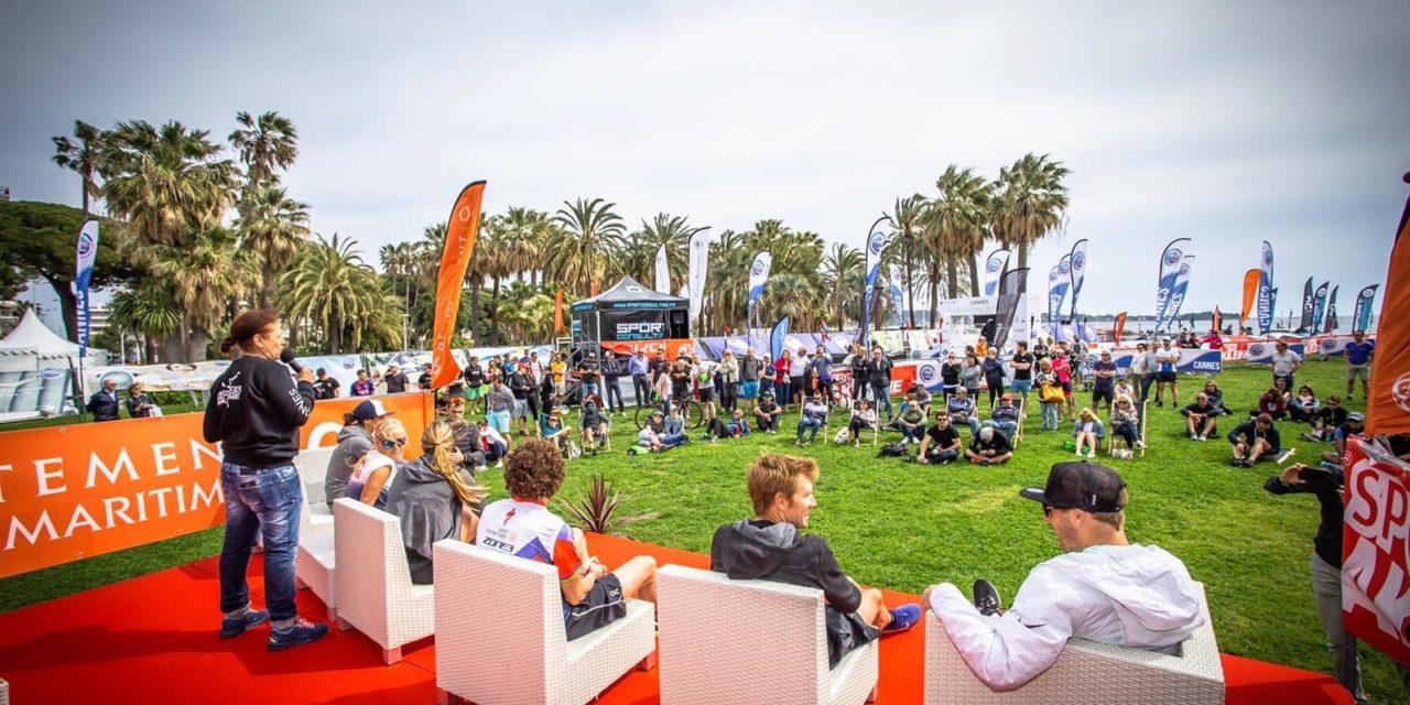 Triathlon Inernational de Cannes: les stars sont au rendez-vous sur la Croisette