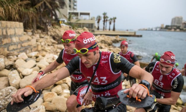 Hard racing at ÖTILLÖ Malta, The former world champs take it again!