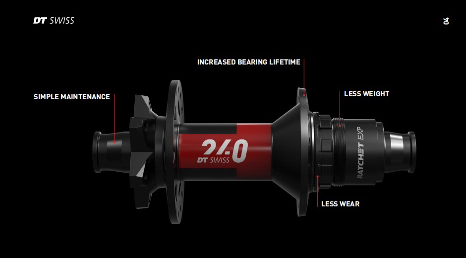DT Swiss introduces the brand new 240 hub