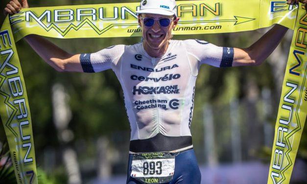 EmbrunMan : malgré la chaleur caniculaire le record tombe, victoire du prometteur Léon Chevalier